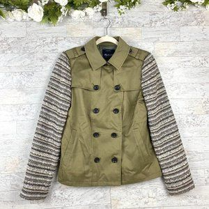 Madewell Utility Olive Green Button Jacket